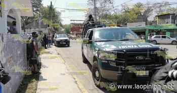 Violento atracó en el poblado de Santa Rosalía - La Opinión