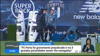 No Porto há novas críticas aos árbitros do jogo frente ao Moreirense - RTP