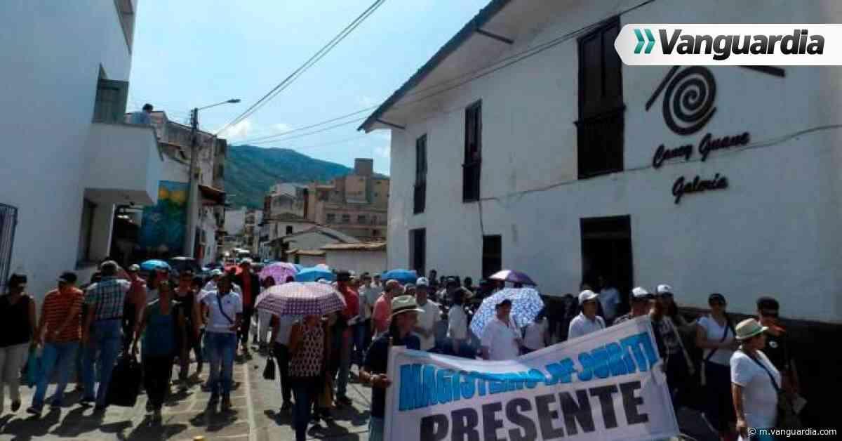San Gil y Socorro listos para el paro nacional - Vanguardia