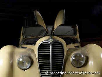 Une Delahaye 135 retrouvée dans un garage à Boulogne-Billancourt   Le magazine des enchères - Magazine des enchères