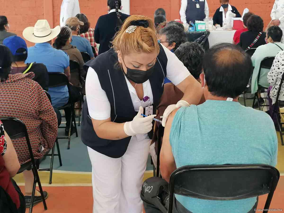 Buscan 5 mil completar esquema de vacunación anticovid19 en San Mateo Atenco   #SéUnoNoticias - SéUno Noticias