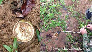 Tres soldados heridos en un campo minado en Sardinata | La Opinión - La Opinión Cúcuta