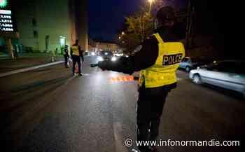 Evreux : refus d'obtempérer et infraction au couvre-feu, le conducteur est placé en garde à vue - InfoNormandie.com