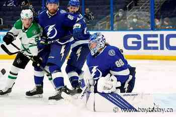 Vasilevskiy blanks Stars, again; Lightning beat Dallas 3-0