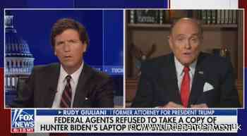 Rudy Giuliani tells Tucker Carlson he offered FBI agents Hunter Biden's laptop during raid