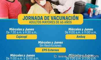 Jornada de vacunación para mayores de 65 en Ariguaní - Opinion Caribe