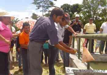 Inauguran alcantarillado en calles de Uchiza – Inforegion - INFOREGION