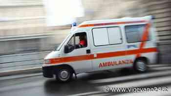 Vigevano: scontro auto-furgoncino in via Montebello, lievemente ferita una 36enne - Vigevano24.it