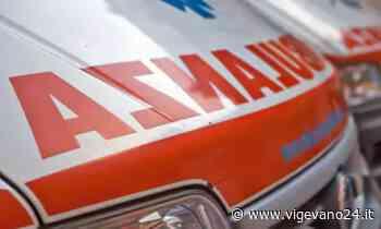Vigevano: tamponamento tra auto in corso cavour, soccorso un 39enne - Vigevano24.it