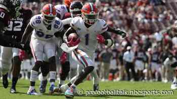 Giants select Florida wide receiver Kadarius Toney with 20th pick