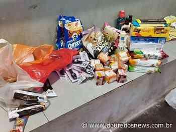 Homem é preso após furtar mercado na sitioca Campina Verde - Dourados News