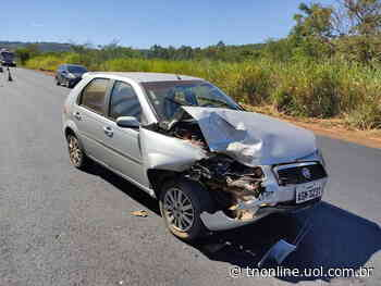 De novo: batida entre carros é registrada em Jandaia do Sul - TNOnline - TNOnline
