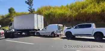 Acidente deixa um ferido na BR-376 em Jandaia do Sul - TNOnline - TNOnline