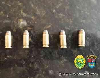 Homem é preso com munições e maconha em Wenceslau Braz - Folha Extra