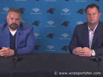 Panthers' Matt Rhule, Scott Fitterer speak on first-round pick Jaycee Horn