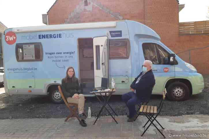 Het Mobiel Energiehuis staat in Malderen