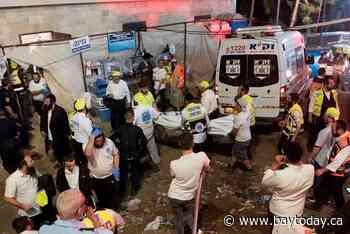 Stampede at Israeli religious festival kills nearly 40