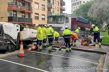 Zarautz acomete la reparación de las aceras del barrio Vista Alegre - Noticias de Gipuzkoa