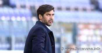 Fonseca, l'addio dentro la Coppa - ForzaRoma.info