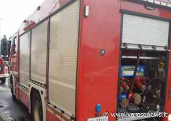 Incidente con ribaltamento in via Torino a Gallarate - Gallarate/Malpensa - varesenews.it