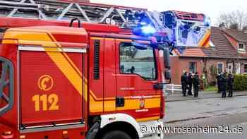 Feuerwehreinsatz am 27. April in Stephanskirchen in der Gemeinschaftsunterkunft für Asylsuchende in der Müh... - rosenheim24.de