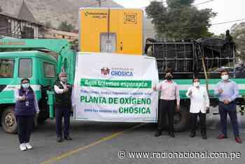 Hospital de Chosica recibe planta de oxígeno medicinal donada por su comuna - Radio Nacional del Perú