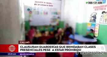 Chosica: clausuran guarderías donde asistían niños pese a prohibición - El Comercio Perú