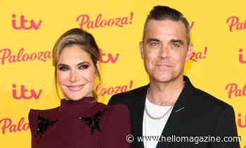 Robbie Williams' wife Ayda Field shares 'proud' moment with daughter Teddy – and it's adorable - HELLO!