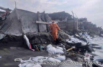El mar se metió en 20 viviendas del barrio Panamá en Puebloviejo - Hoy Diario del Magdalena