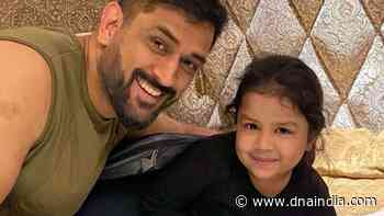IPL 2021: Mahendra Singh Dhoni's pictures with daughter Ziva go VIRAL, see vibrant photographs here - DNA India