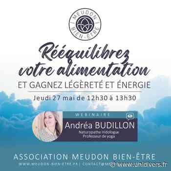 WEBINAIRE   RÉÉQUILIBREZ VOTRE ALIMENTATION + CHALLENGE En ligne jeudi 27 mai 2021 - Unidivers