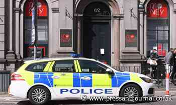 Police incident at bank on busy Aberdeen street - Press and Journal