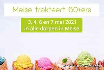 Seniorenfeest opnieuw afgelast, maar wel gratis ijsje voor zestigplussers - Het Nieuwsblad