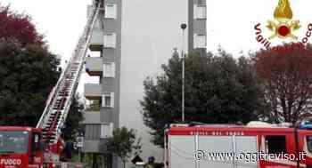Fontanafredda, fuoco in appartamento - Oggi Treviso