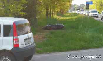 Incidente: grave un motociclista - La Prealpina