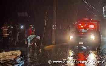 Tormenta causa afectaciones en Mixquiahuala y Progreso - El Sol de Hidalgo