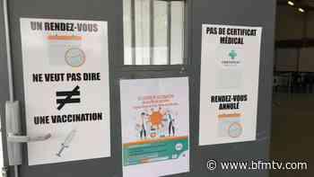 Insultes, cris... au centre de vaccination de Sarcelles, les soignants victimes d'actes d'intimidation - BFMTV