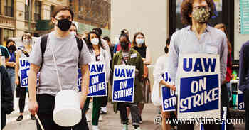 NYU Was a Labor Battleground. Now Graduate Students Are Back on Strike.