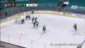 a Goalie Save from San Jose Sharks vs. Arizona Coyotes - Yahoo Canada Sports