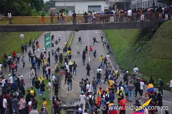 En disturbios terminó la jornada de protesta en Pereira y Dosquebradas - El Diario de Otún