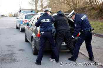 POL-ME: Polizei fasst betrunkenen Randalierer - Monheim am Rhein - 2104116 - Presseportal.de