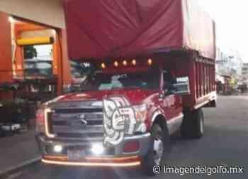 Camioneta de fletes de Coatza, fue robada en Cosamaloapan - Imagen del Golfo