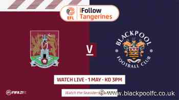 How To Follow This Weekend's Game Against Northampton Town