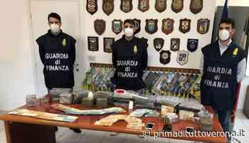 Inseguimento tra Bussolengo e Castelnuovo: il commissario Rex della Finanza trova droga in auto per due milioni di euro - Prima Verona