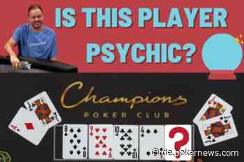 Pokerspieler verblüfft am Finaltisch, indem er gesamten Run-Out vohersagt
