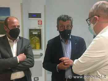 Tigullio, presidente Brunetto (Lega) in visita agli ospedali di Rapallo, Sestri Levante e Lavagna - Genova24.it