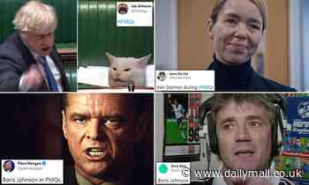 Boris is likened to Jack Nicholson in A Few Good Men as Twitter explodes in memes over Commons clash - Daily Mail
