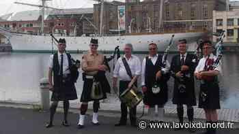 Bray-Dunes: les Dunkirk Spirit Pipers font sonner la cornemuse dehors - La Voix du Nord