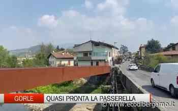NUOVO PONTE CICLOPEDONALE DI GORLE DA 1 MLN (DAVIDE AMATO) - L'Eco di Bergamo