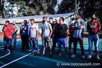 Satisfacción por el primer playón deportivo inaugurado en El Soberbio Se trata del primero de una - Noticiasdel6.com